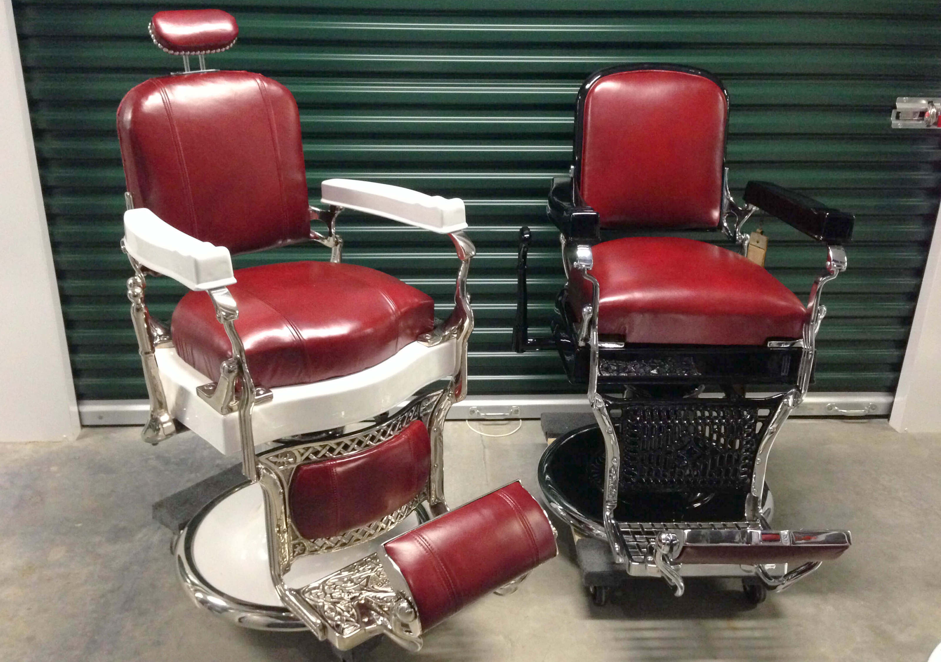 You Can Still Find Classic Durable And Fully Reclining Backrest Koken Barber Chairs Such As The Legacy On Websites Like Or