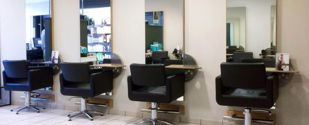 6 best salon styling stations for your hair salon for Modern salon stations