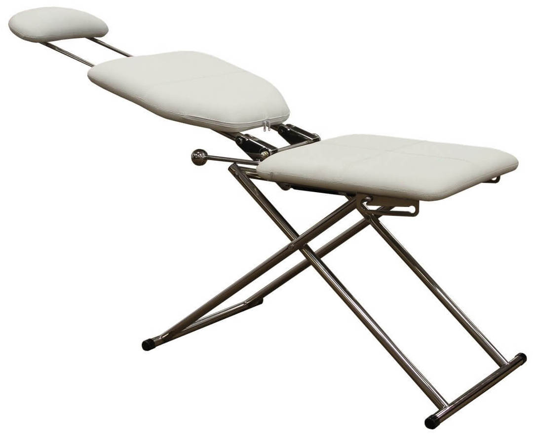 Fold Up Design W/Carry Handle u2013 This unit folds down easy and compactly and only requires one hand for mobility thanks to the easy carry handle.  sc 1 st  Furnish u0026 Style - Barber u0026 Salon Furniture Advice : portable reclining chairs - islam-shia.org