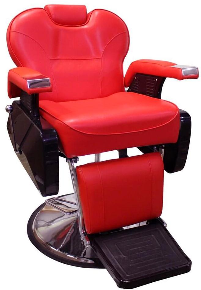 Red Barber Chairs Hydraulic Reclining Amp Heavy Duty