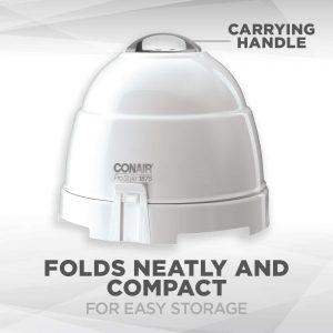 Conair Pro Style Bonnet Hair Dryer, White