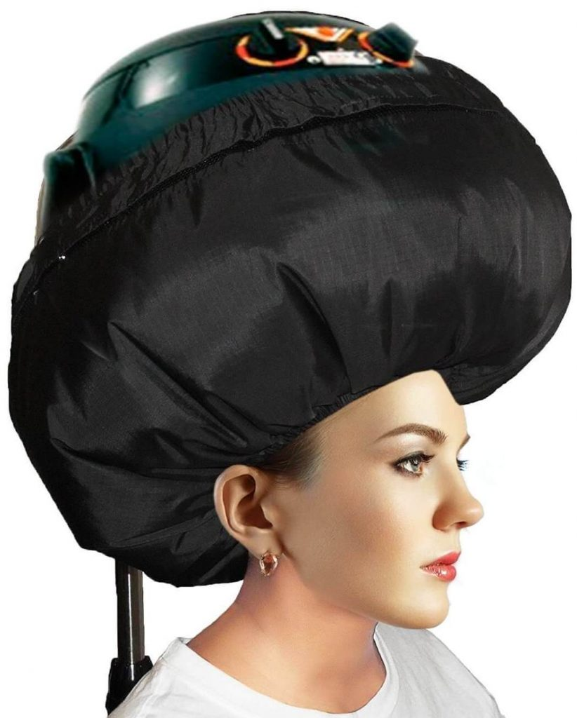 This Is Not A Soft Hood Portable Hair Dryer But Bonnet Cap Attachment That You Can Fit Over Your Hard Hooded Then Place Head Through An