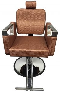 D Salon Rose Gold Luxury Recling Salon Eyelash Extension Chair