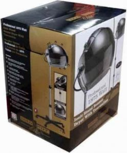 Gold 'N Hot Elite 1875-Watt standing bonnet dryer boxed