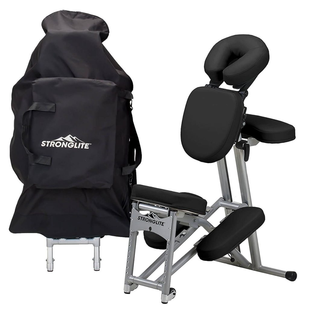 Stronglite Ergo Pro 2 Adjustable Folding Portable Spa Chair